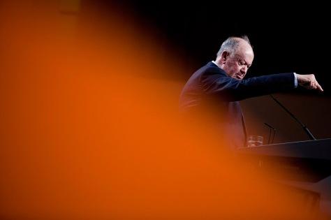 Alberto João Jardim durante o XXXIV Congresso Nacional do PSD RUI GAUDÊNCIO-A partir de agora o caminho é sempre a descer...