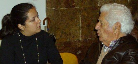 Oradora e presidente da LASA, Dr. Machado Luciano.