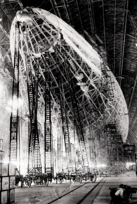 Construção do zeppelin