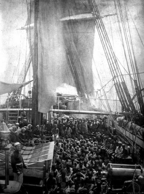 Navio negreiro, meados séc.XIX.