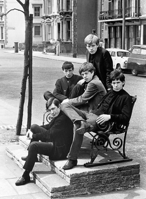 Rolling Stones, 1962. Photograph by Philip Townsend. Historical Pics.