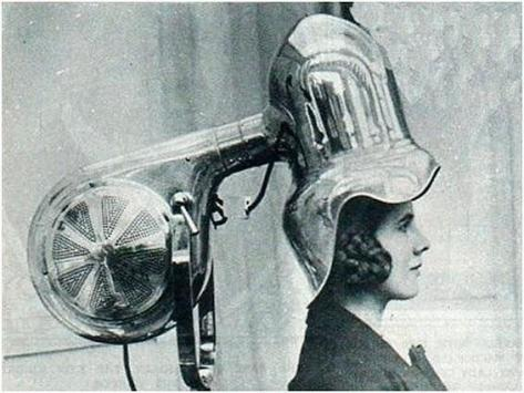 Hair Dryer, 1928. History in Pictures.