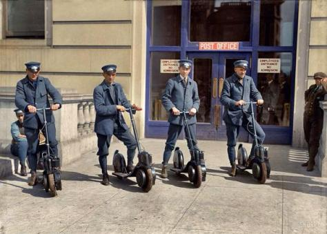 DC postman. Early 1900's. Historical Pics.