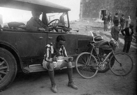 1927 - I Volta a Portugal em Bicicleta, passagem pelo Alentejo