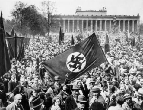 Anti Nazi demonstration in Berlin, 1932. Historical Pics.
