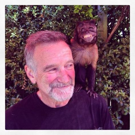 The last photo of Robin Williams. Historical Pics.
