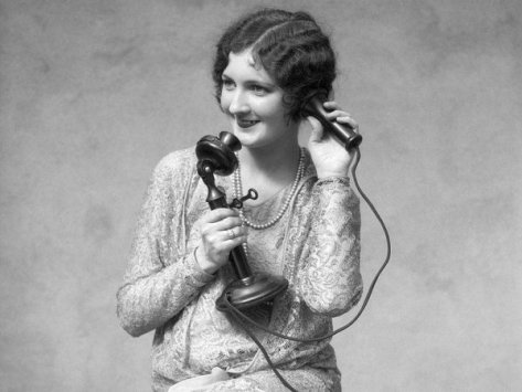 @HistoryInPics In the 1930s people used the acronym CHINA over the phone, meaning Come Home I'm Naked Already. History in Pictures.