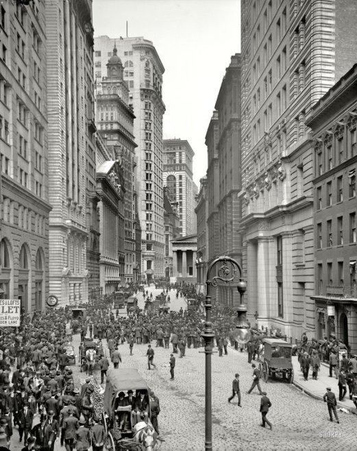 New York circa 1905. Classic Pics.
