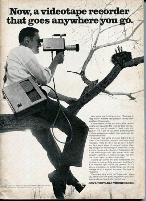 Sony Tape Recorder ad, 1967. Historical Pics.