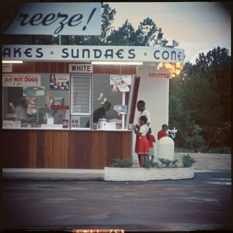 Segregation, Shady Grove, Alabama, 1956. Photograph by Gordon Parks. History in Pictures