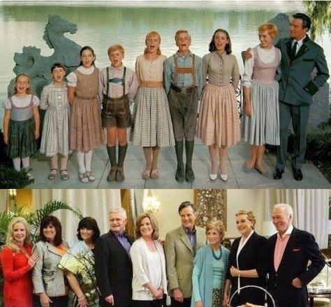The reunion of 'The Sound of Music' family 45 years later. History in Pictures.