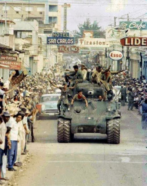 The Cuban revolution, 1959. Old Pics Archive.