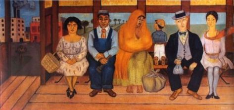 El Autobús, Frida Kahlo. Art Pics Channel.