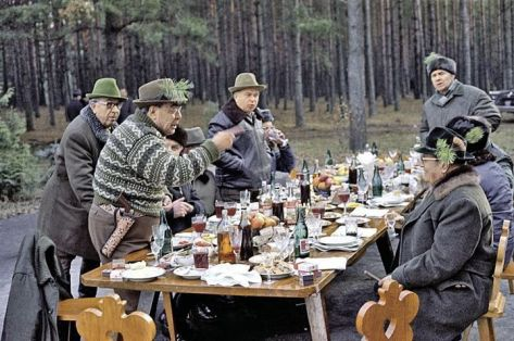 Brezhnev and friends. Old Pics Archive.