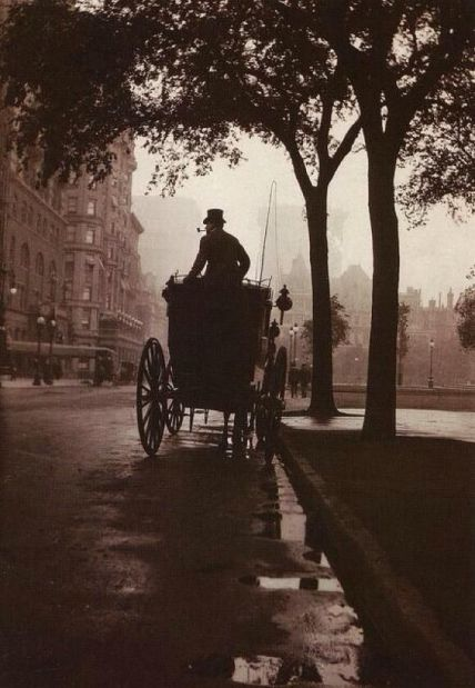 Central Park, New York, 1900. Historical Pics.