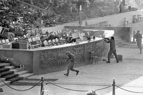 The assassination of Anwar Sadat, 1981. Old Pics Archive.