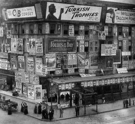 Times Square, 1909. History in Pictures.