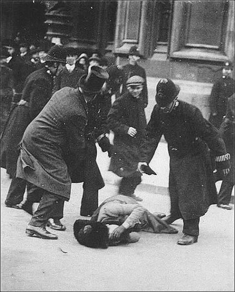 Susan B Anthony pummeled and arrested for attempting to vote in 1872. She was fined for registering to vote. Women are amazing! History in Pictures.