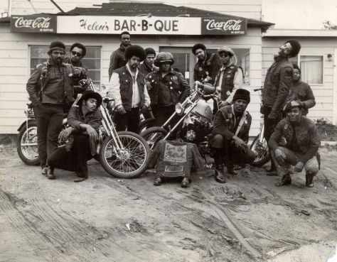 The East Bay Dragons, the first black bikers_ club, Oakland, California, 1960s. Classic Pics.