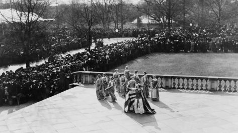 Washington, D.C Woman Suffrage Parade of 1913. Old Pics Archive.