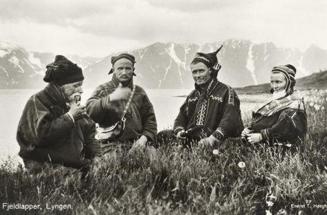 Scandinavia's indigenous Sami people in Norway, 1928. History in Pictures.