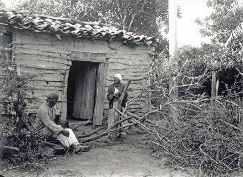 Negros libertos, Porto Alegre, em 1900. Fotas de fatos.